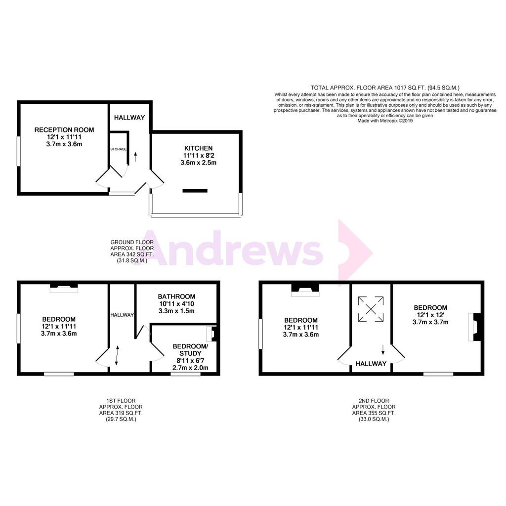 Floorplan: 7 Charlton Lodge