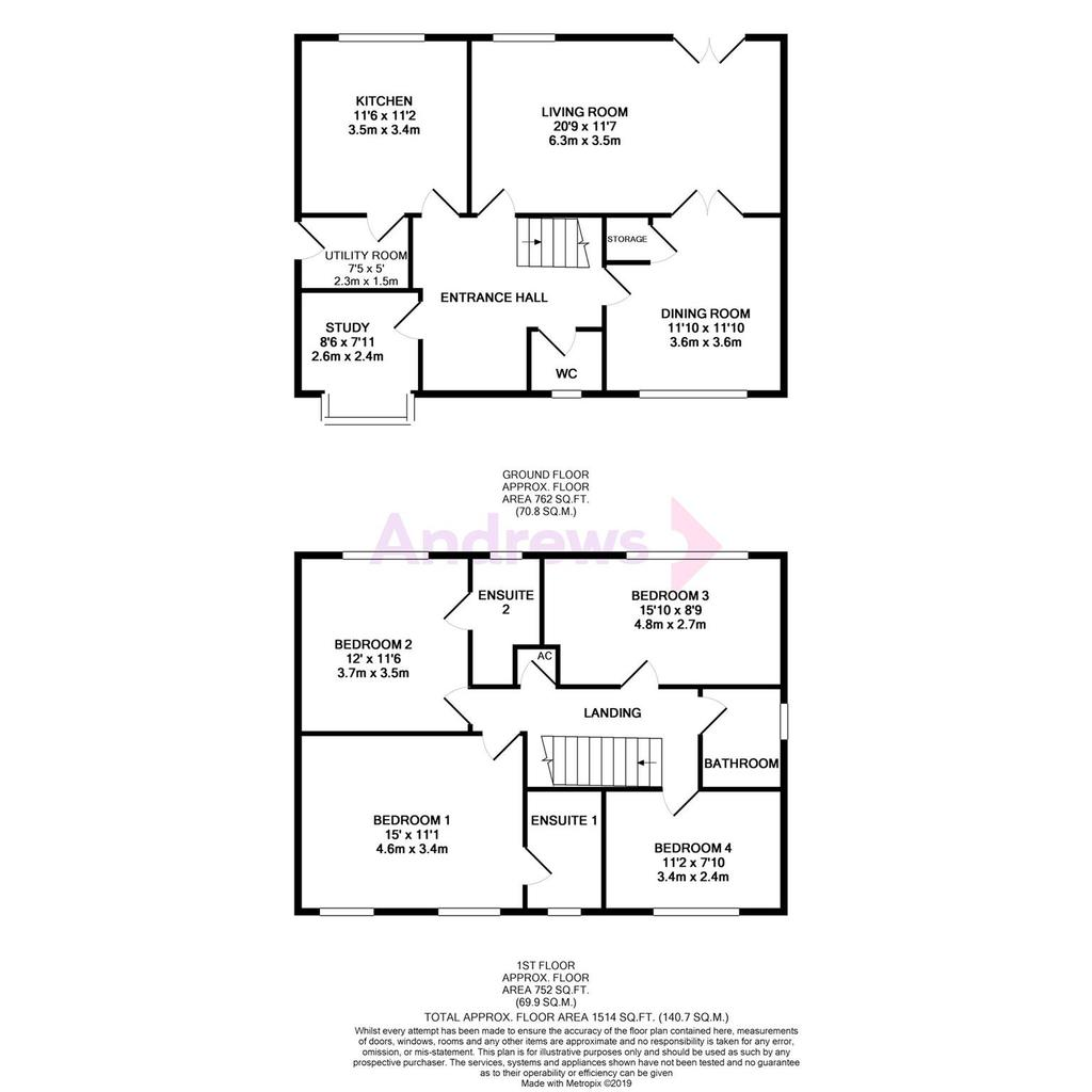 Floorplan: Corbett Close