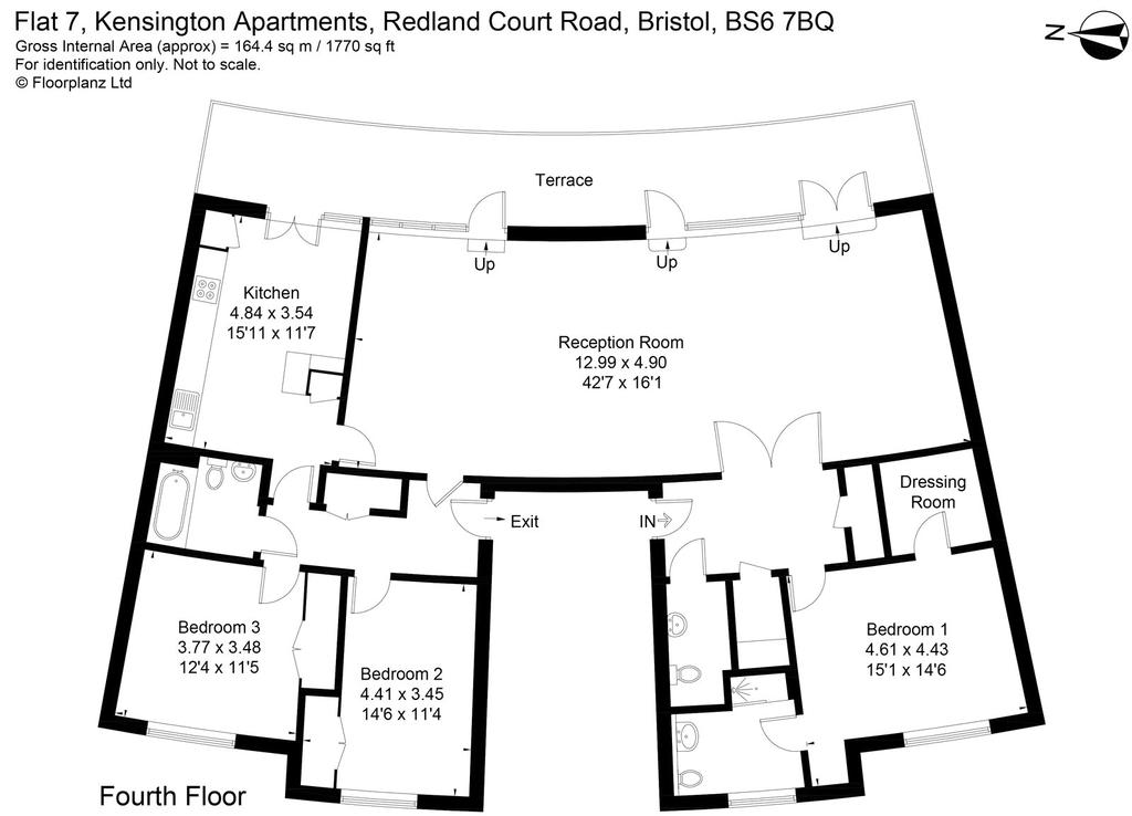 kensington apartments  redland court road  bristol  bs6 3