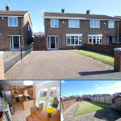 3 bedroom semi-detached house for sale - Constable Gardens, South Shields