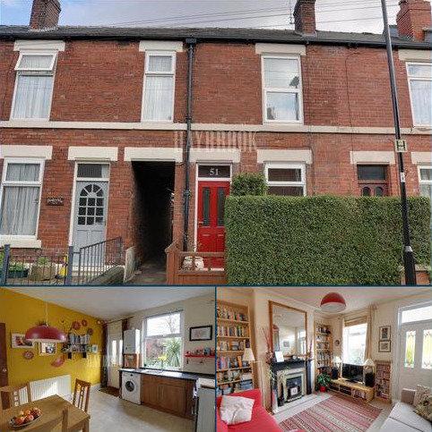 2 bedroom terraced house for sale - Tavistock Road, Nether Edge, Sheffield, S7 1GF