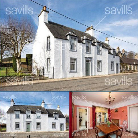 4 bedroom character property for sale - Broughton Green, Broughton, Peeblesshire, ML12