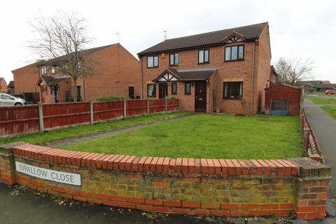 3 bedroom semi-detached house for sale - Swallow Close, Gainsborough