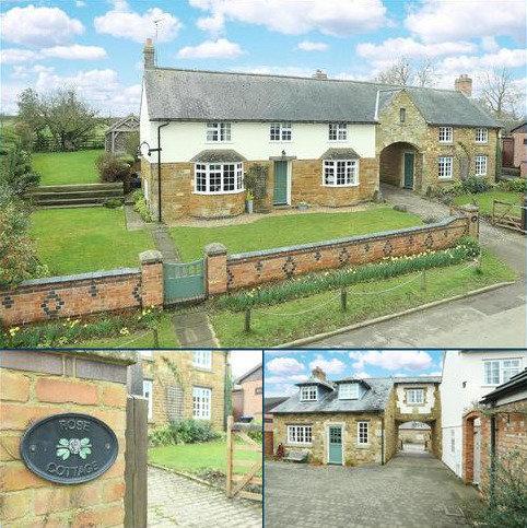 5 bedroom detached house for sale - Main Street, Slawston, Market Harborough