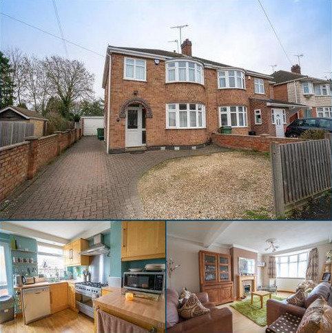3 bedroom semi-detached house for sale - Shackerdale Road, Wigston