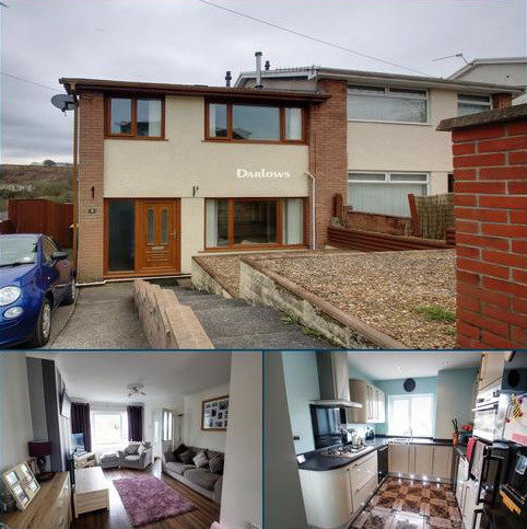 3 bedroom semi-detached house for sale - Westwood Drive, Treharris