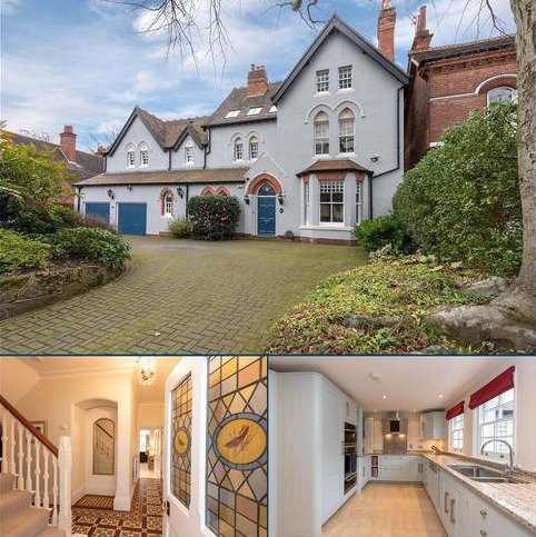 6 bedroom detached house for sale - Barlows Road, Edgbaston, Birmingham, B15