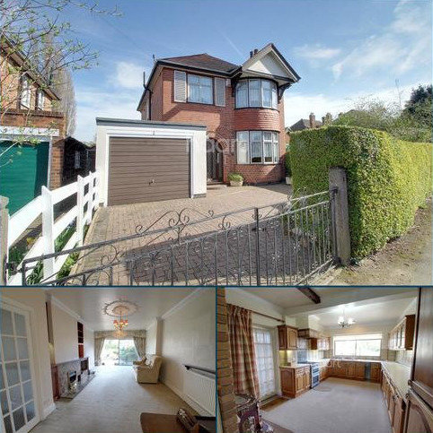 3 bedroom detached house for sale - Hartfield Road, Leicester