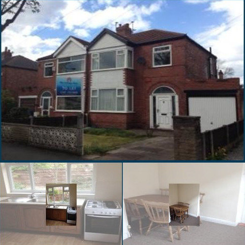 3 bedroom semi-detached house to rent - Audley Ave, Stretford, Manchester M32