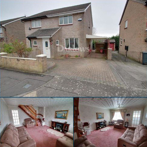 2 bedroom semi-detached house for sale - Hazelwood Drive, St Mellons, Cardiff