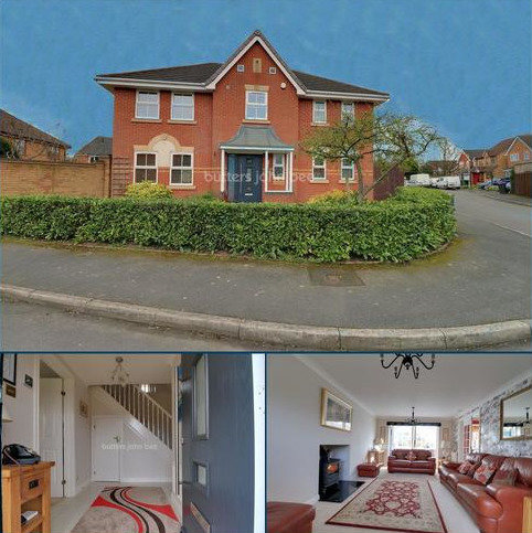4 bedroom detached house for sale - Calluna Drive, Prioslee