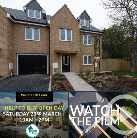 4 bedroom semi-detached house for sale - Walter Craft Court, Chipping Norton, Oxfordshire