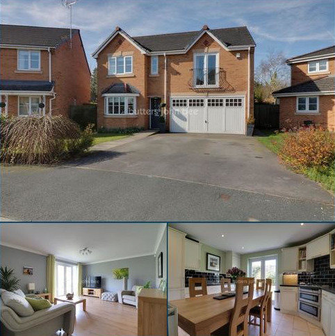 4 bedroom detached house for sale - Quarry Bank Rise, Winsford