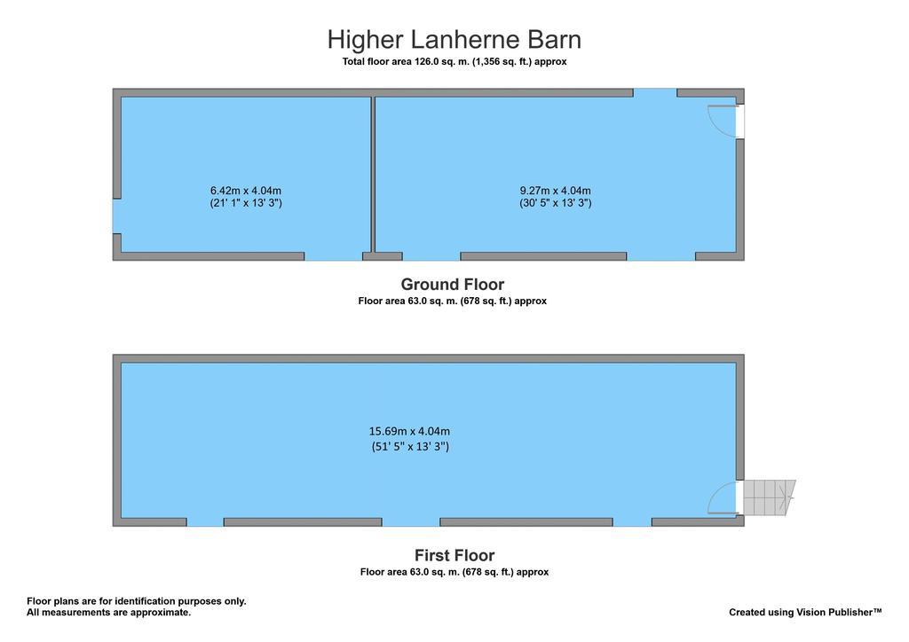 Floorplan 2 of 3: The Barn