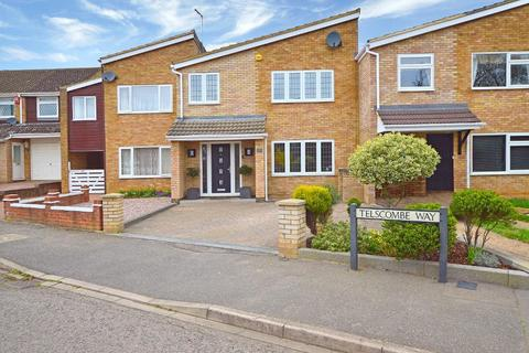 4 bedroom terraced house for sale - Telscombe Way, Stopsley, Luton, LU2 8QP