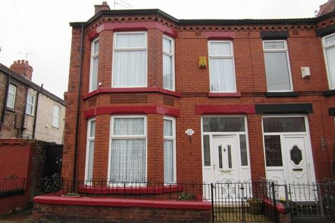 3 bedroom end of terrace house for sale - Chatsworth Avenue, Liverpool, L9 3BA