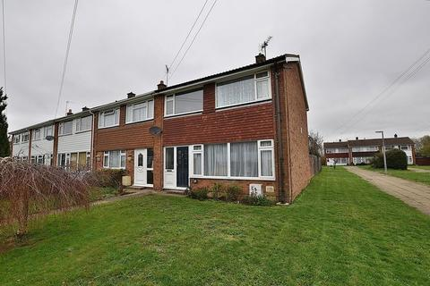 3 bedroom end of terrace house for sale - SUPERB refitted kitchen/dining area, GROUND FLOOR shower room, village location...
