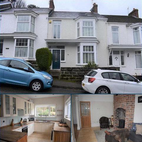 3 bedroom terraced house for sale - Kings Road, Mumbles, Swansea