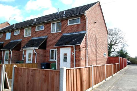 2 bedroom end of terrace house for sale - Legrice Crescent, North Walsham