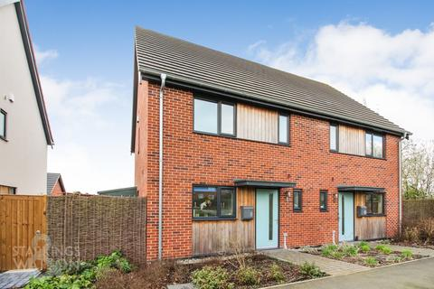 3 bedroom semi-detached house for sale - Hopsack Road, Hingham, Norwich