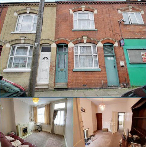 2 bedroom terraced house for sale - Beatrice Road, Leicester
