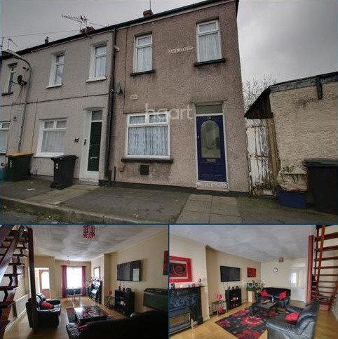 3 bedroom end of terrace house for sale - LLoyd Street, Newport