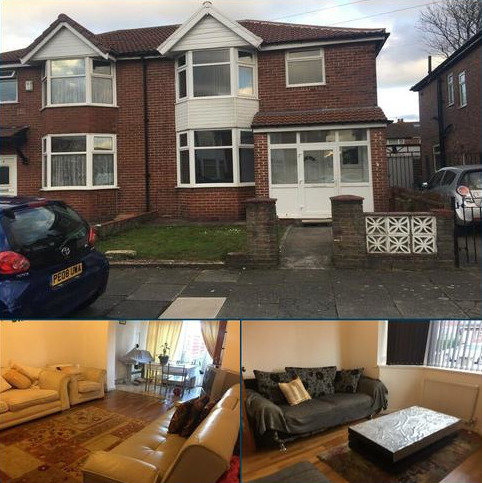 3 bedroom semi-detached house to rent - Skelton Avenue, Longsight, Manchester, m13 M13