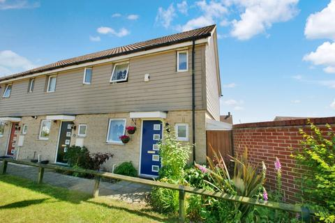 2 bedroom end of terrace house for sale - Kestrel Avenue, Costessey
