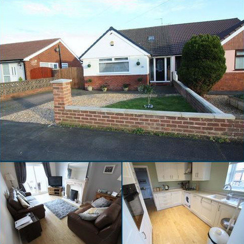 3 bedroom semi-detached bungalow for sale - Windermere Road, Whitby