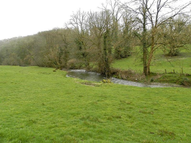 River Cych and...