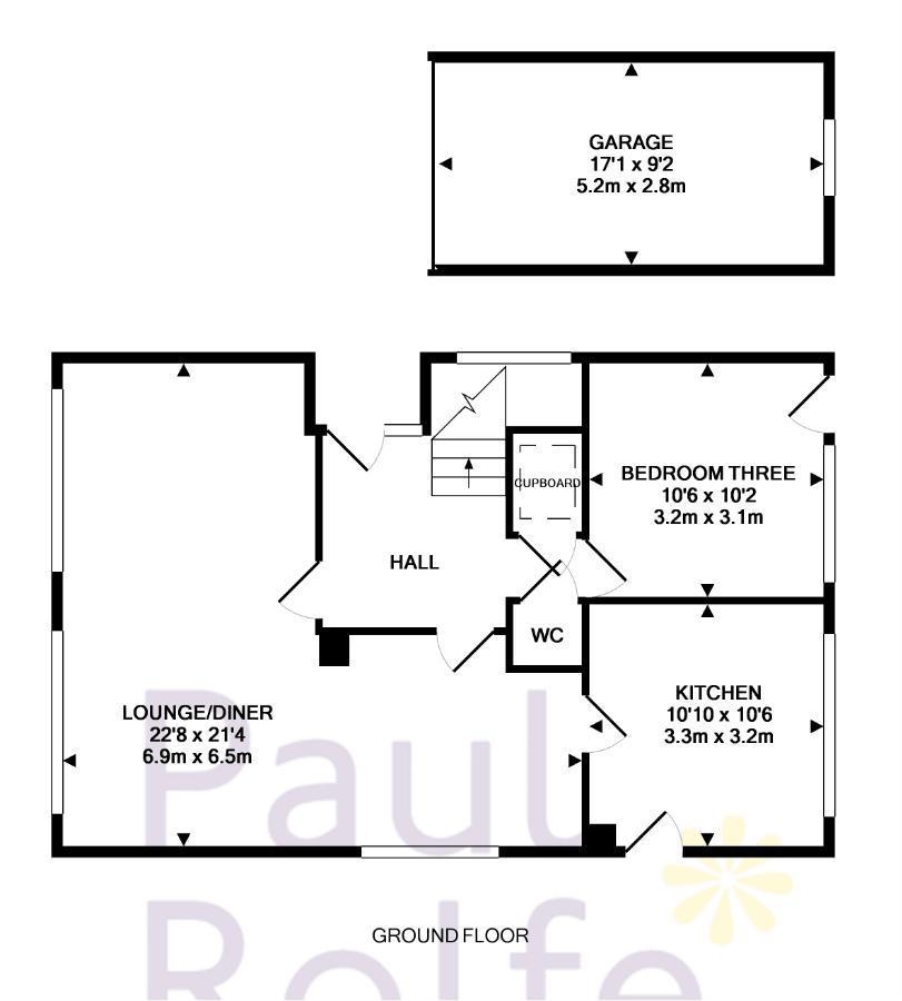 Floorplan 2 of 3: Ground Floor and...