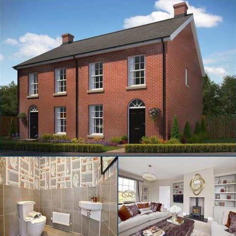 3 bedroom semi-detached house for sale - Richmond Park, Whitfield, Dover, Kent, CT16