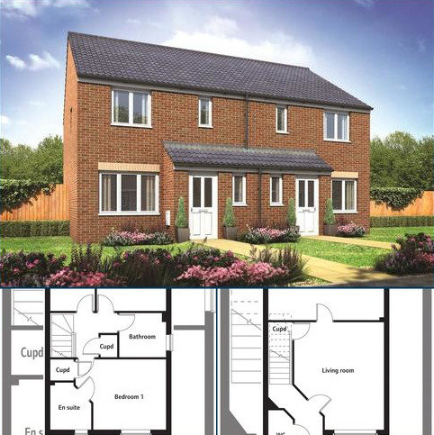 3 bedroom semi-detached house for sale - 142 Millers Field, Manor Park, Sprowston, Norfolk, NR7