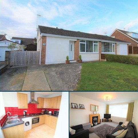 2 bedroom semi-detached bungalow for sale - Northwood, Borras, Wrexham