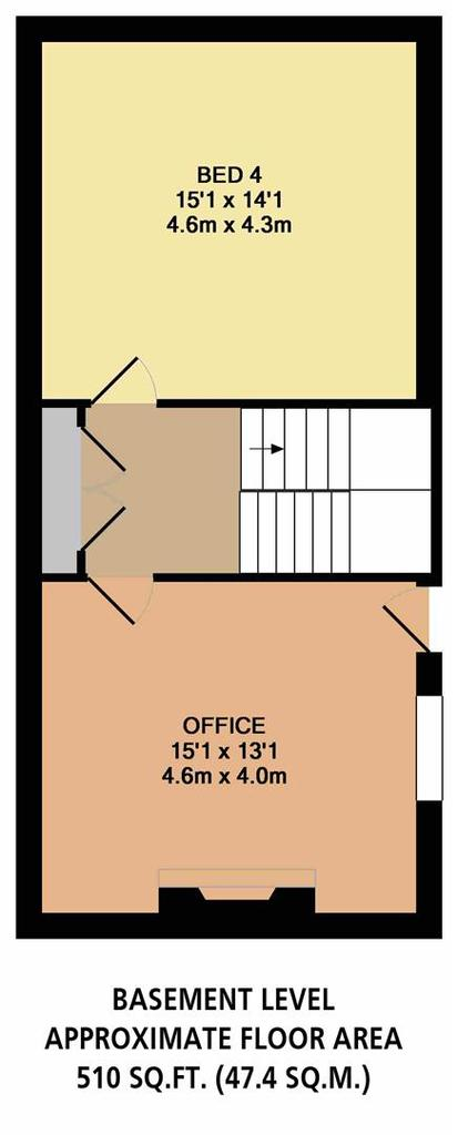 Floorplan 2 of 5: Basement Level