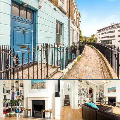 4 bedroom terraced house for sale - Lyme Terrace, London, NW1