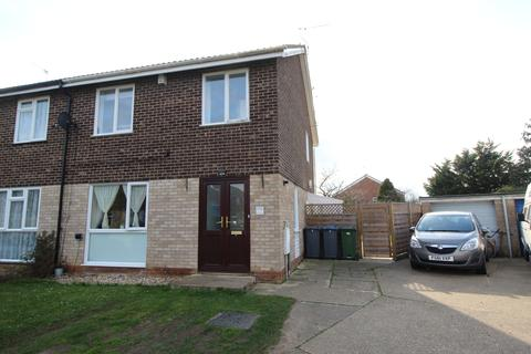 3 bedroom semi-detached house for sale - Simons Cross, Wickham Market, Woodbridge, Suffolk, IP13