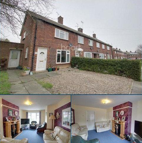 2 bedroom end of terrace house for sale - Lancaster Avenue, Bury St Edmunds
