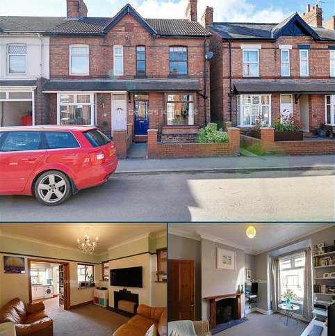 2 bedroom end of terrace house for sale - Wistaston Road, Willaston