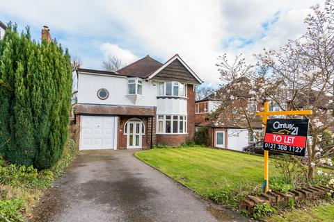 4 bedroom detached house to rent - Jordan Road, Sutton Coldfield, West Midlands, B75