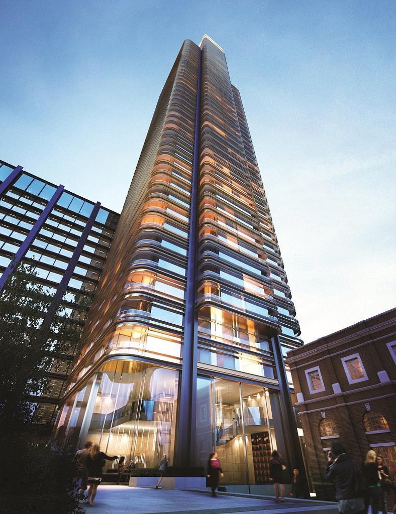 Shoreditch High Street: Principal Tower, Shoreditch High Street, London, E1 1 Bed