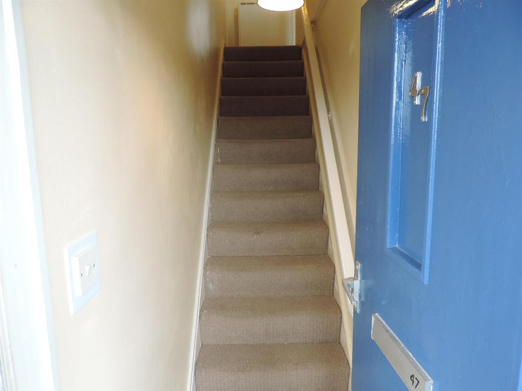 Private entrance hall and stairs
