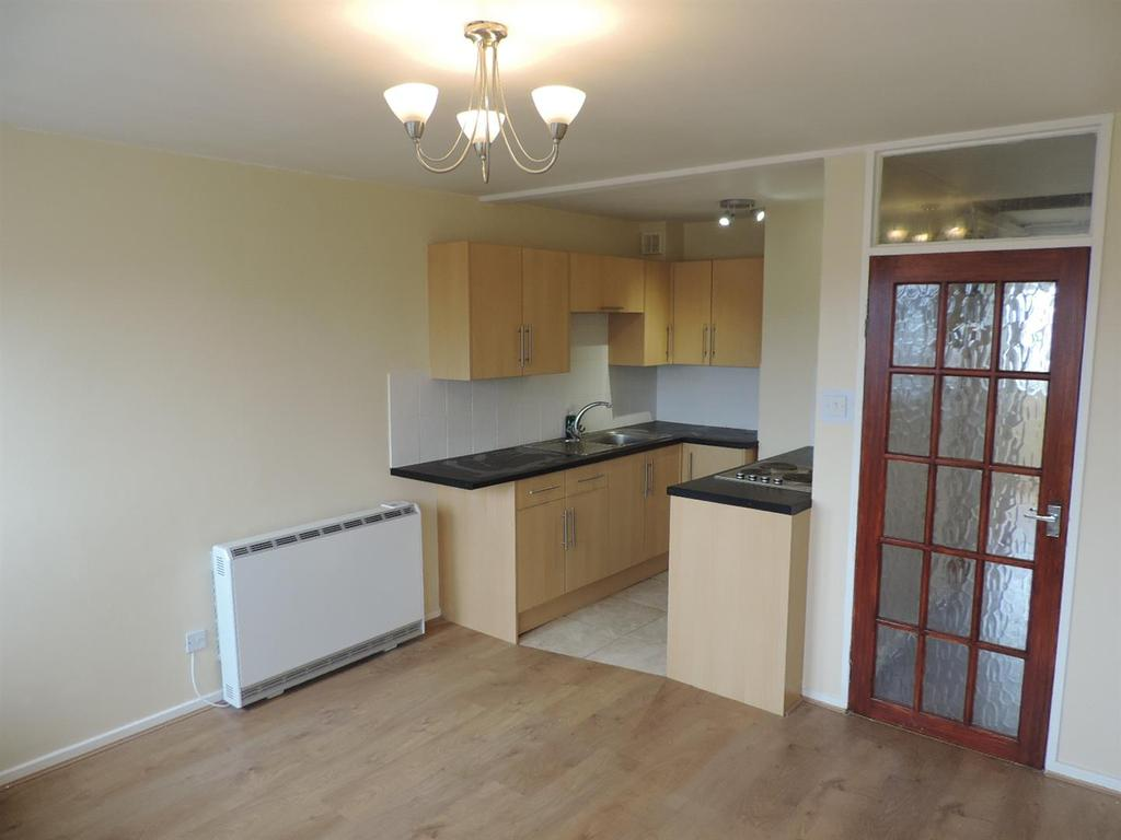Open plan living dining kitchen