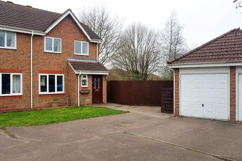 3 bedroom semi-detached house for sale - St. Davids Close, Beccles