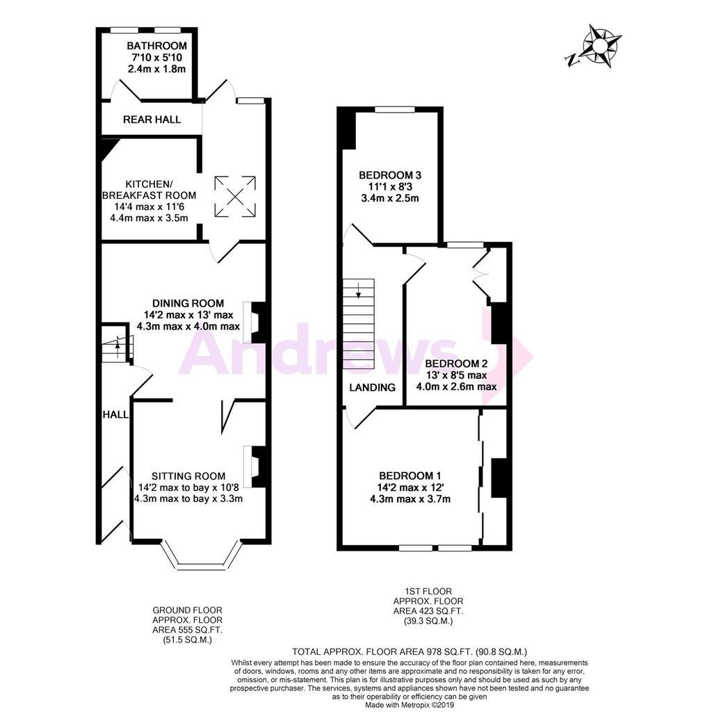 Floorplan: Coronation Avenue