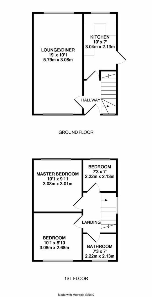 Floorplan: Girton Close