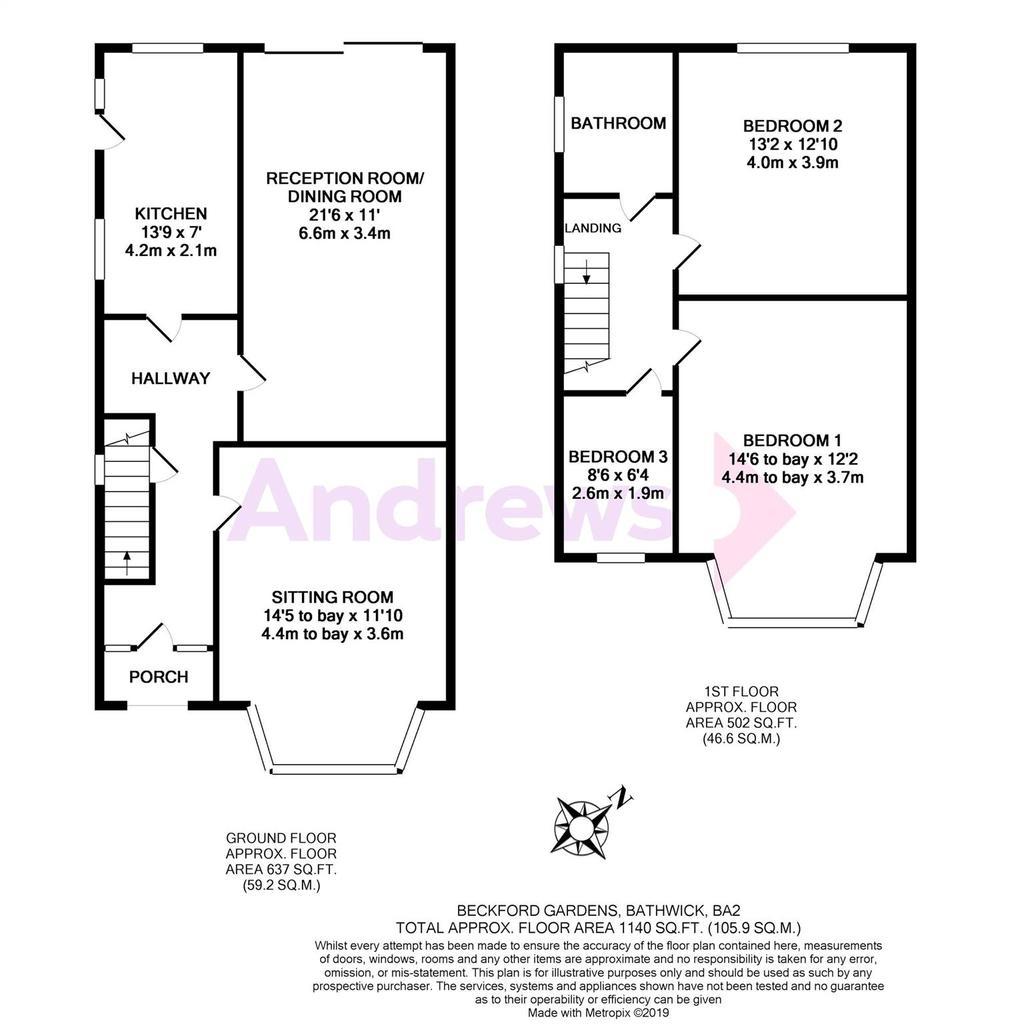Floorplan: Beckford Gardens