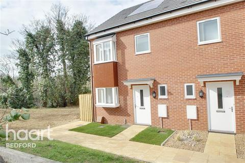 3 bedroom end of terrace house to rent - Kempston Road, Bedford