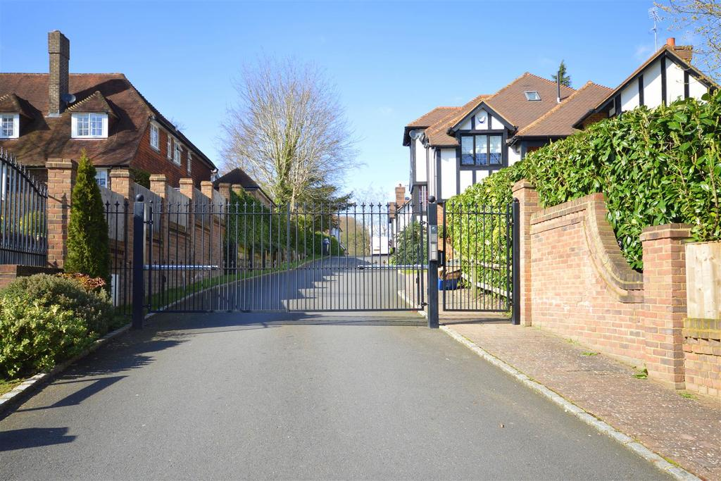 Electric Gates To The Development