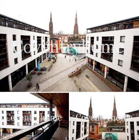 2 bedroom serviced apartment to rent - Fairfax Street, Coventry  CV1